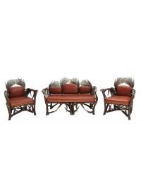 Geweihsofa und Sitze
