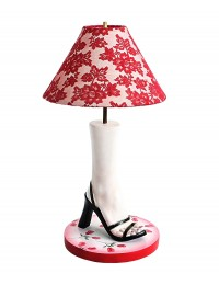 Fußlampe