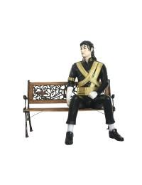 Michael auf Bank