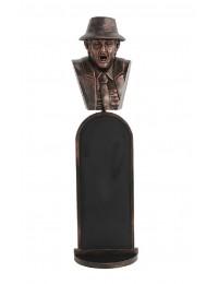 bronze Jake Büste Angebotstafel