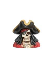 Piratenskelett Büste