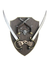 Piratenwaffen Wanddeko