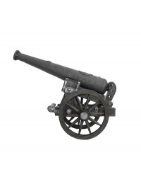Kanone Mittelalterlich auf Rädern
