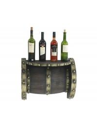 Weinfassregal für für Wand klein