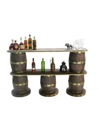Weinfassbar 2 oben 3 unten