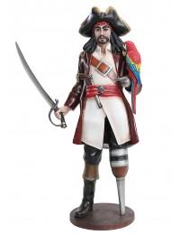 Captain Hook mit Papagei
