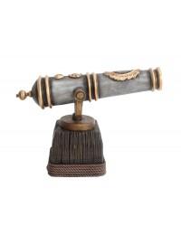Kanone auf Holzständer