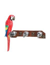 Garderobe Piratenhaken mit Papagei