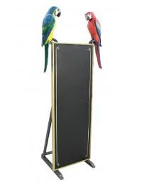 Papageien Angebotstafel