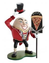 Humpty Dumpty Hut ab mit Pizzatafel