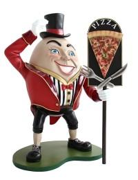 Humpty Dumpty Hut auf mit Pizzatafel