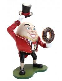 Humpty Dumpty Hut ab mit Donut