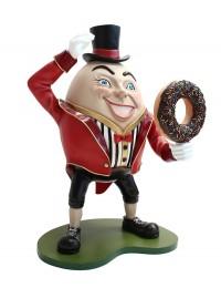 Humpty Dumpty Hut auf mit Donut