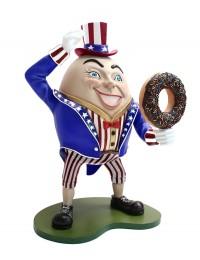 Humpty Dumpty Amerika Hut auf mit Donut