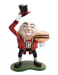 Humpty Dumpty Hut ab mit Burger