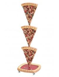 Pizzastücke Zweiseitig