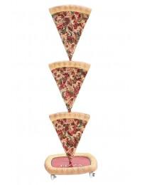 Pizzastücke Einseitig