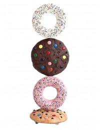 Kekse und Donuts