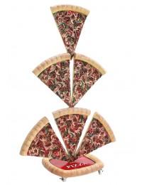 Pizzastücke 6 Zweiseitig