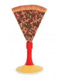 Pizzastück mit Ständer
