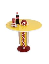 Hot Dog Tisch