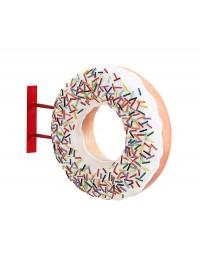 Donut weiß für Wand