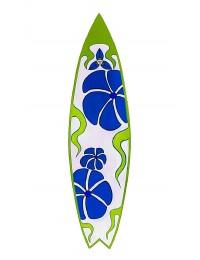 Surfboard Grün Blau Wanddeko