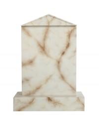 Grabstein mit weißem Marmoreffekt 2