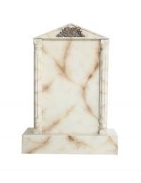 Grabstein mit weißem Marmoreffekt 6