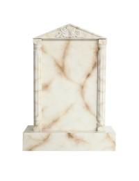 Grabstein mit weißem Marmoreffekt 7