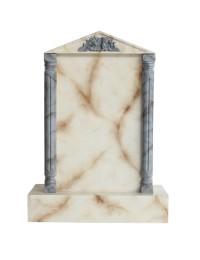 Grabstein mit weißem Marmoreffekt 10