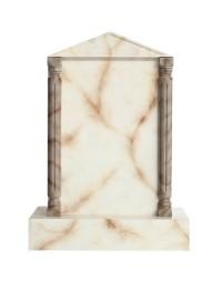 Grabstein mit weißem Marmoreffekt 13