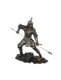 Samurai mit Speer