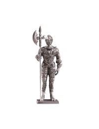 Ritter Silber mit Hellebarde