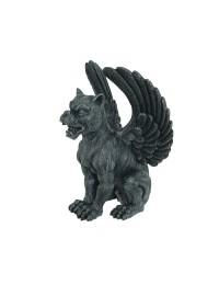 Gargoyle mit Hundekopf