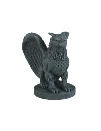 Gargoyle mit Vogelkopf