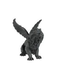 Gargoyle mit Löwenkopf