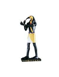 Thot Statue Schwarz Gold