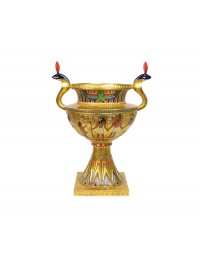 ägyptische goldene Vase
