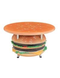 Tisch mit Burgerständer und großer Fläche