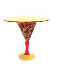 Tisch mit Pizzastückständer und großer Fläche