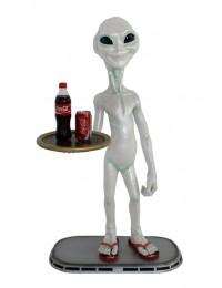 Alien Butler mit Tablett unten