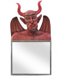 Teufel Spiegel Quadrat
