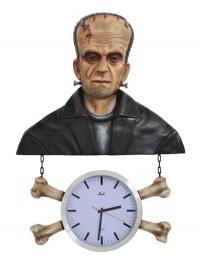 Monster Frankenstein Uhr