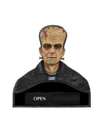 Monster Frankenstein Büste Open Closed