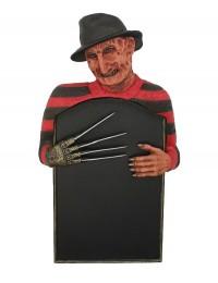 Monster Freddy Krüger Angebotstafel für Wand