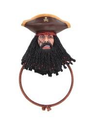 Pirat Blackbeard Spiegel Rund