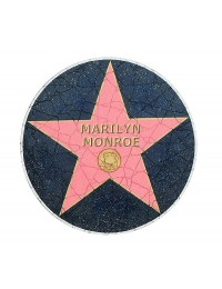 Walk of Fame Fließe Marilyn