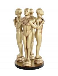 Goldene Preisfigurs