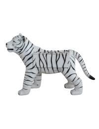 Weißer Tiger Spielzeugkiste
